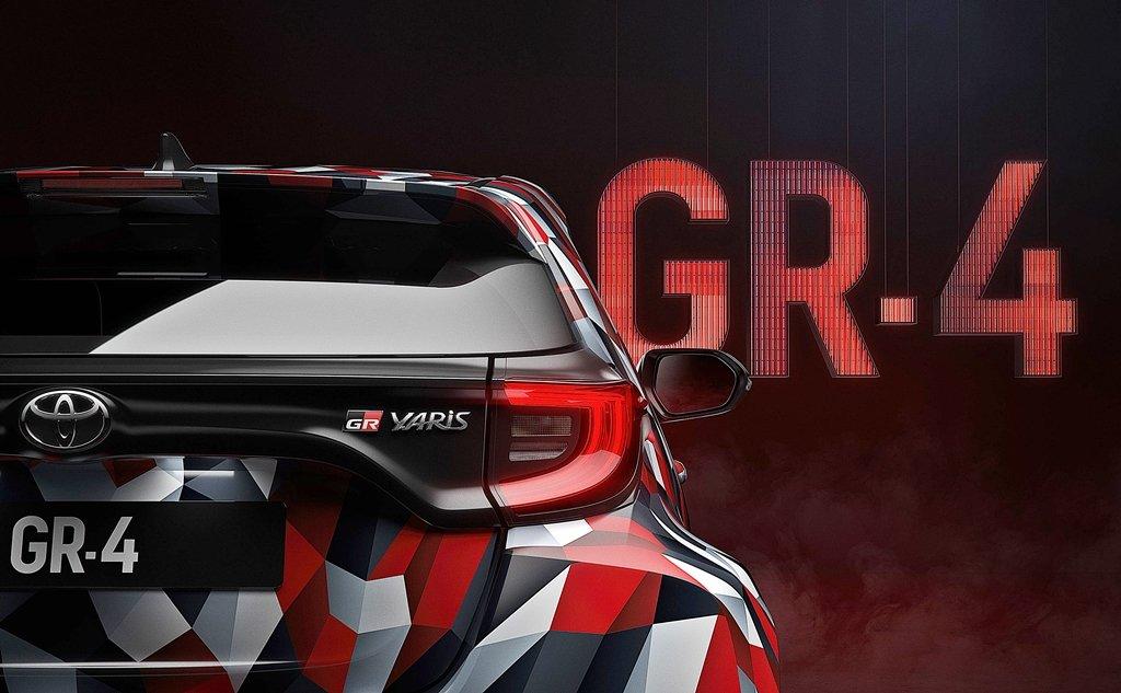 TOYOTA預告將推出Yaris的性能版Yaris GR4,下周澳洲拉力賽舉行賽