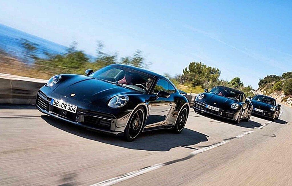 真正熱血的快來了!保時捷全新992世代的911 Turbo原型車IG上提前