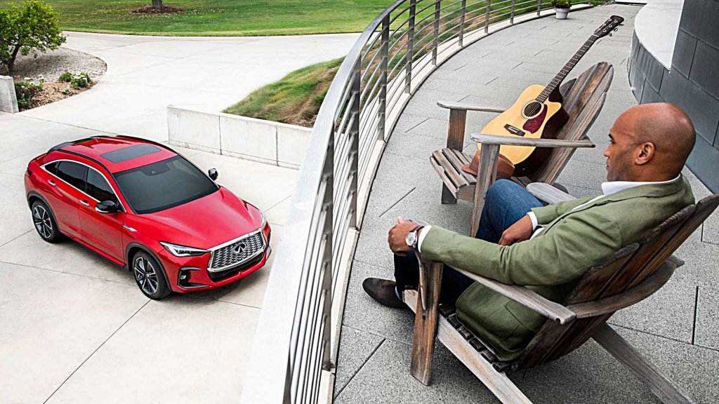 INFINITI全新QX55亮相,全新造型結合座艙數位新科技搭配新動力