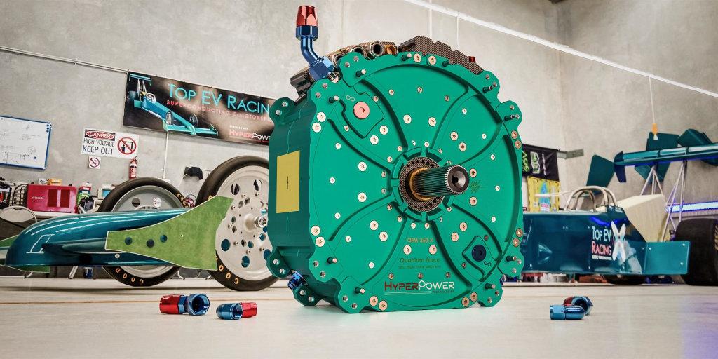 實力驚人!澳洲HyperPower Technologies推出超高性能電動馬達