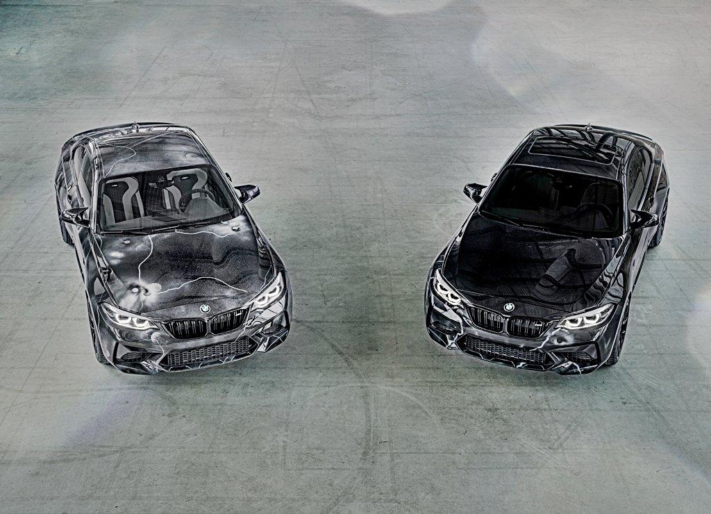 BMW與塗鴉大師Futura 2000跨界創作M2 Competition塗鴉車,塗鴉限