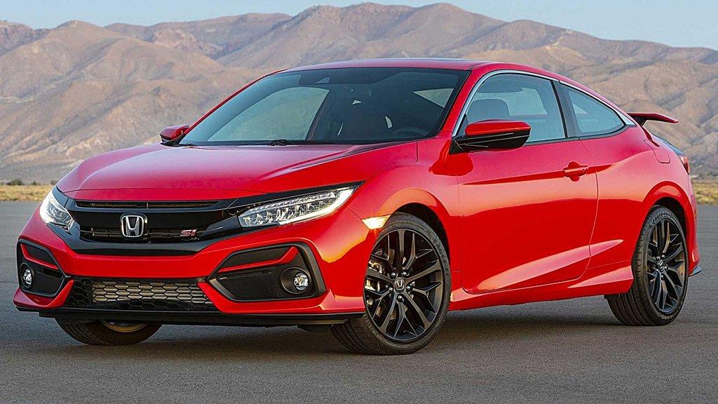HONDA 2020年式改款Civic Si散發運動風,Honda Sensing列為標配