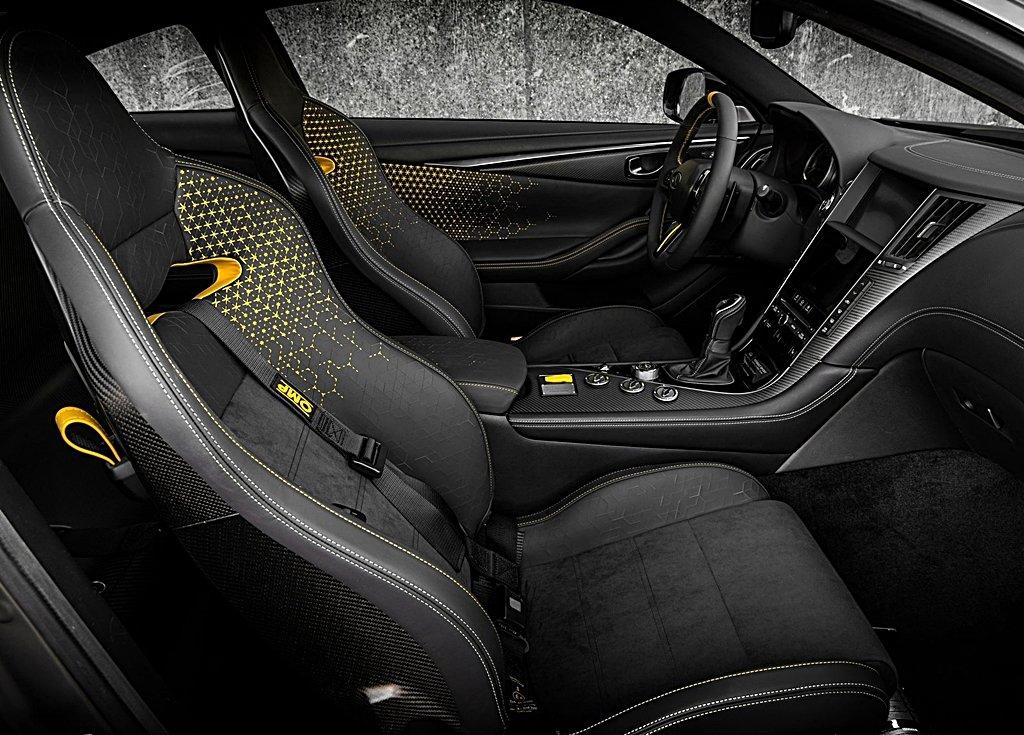 雷諾F1賽車技術加持 563匹馬力的Infiniti Q60 Project Black S可