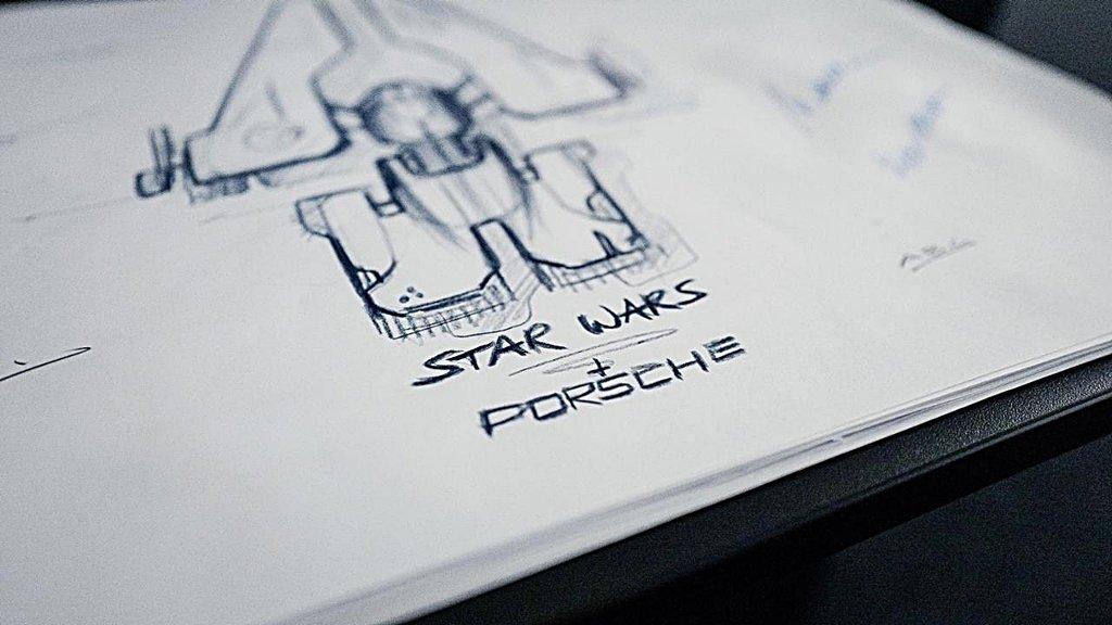 PORSCHE保時捷跨足電影,和好萊塢電影公司合作設計Star Wars星際