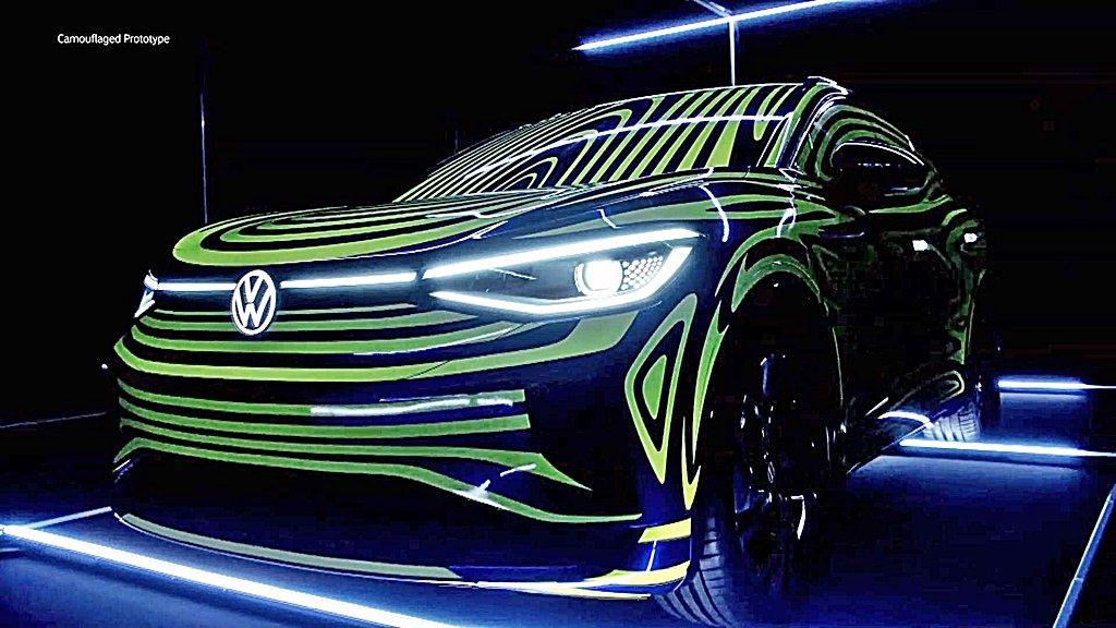 VW ID.3發表後,其他ID家族成員蓄勢待發,ID.4 原型車亮相預計明