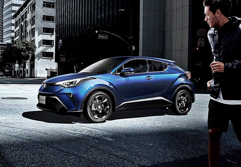TOYOTA C-HR日本推出小改新車,搭載新版Safety Sense、主動煞停