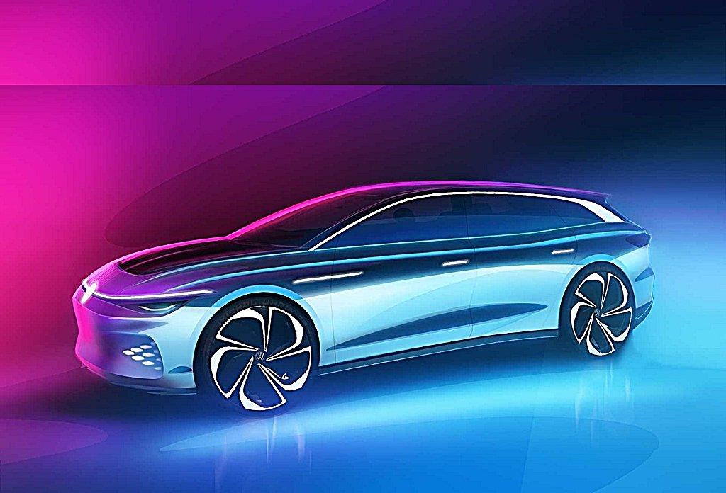 VW推出電動車第3發ID. Space Vizzion旅行車