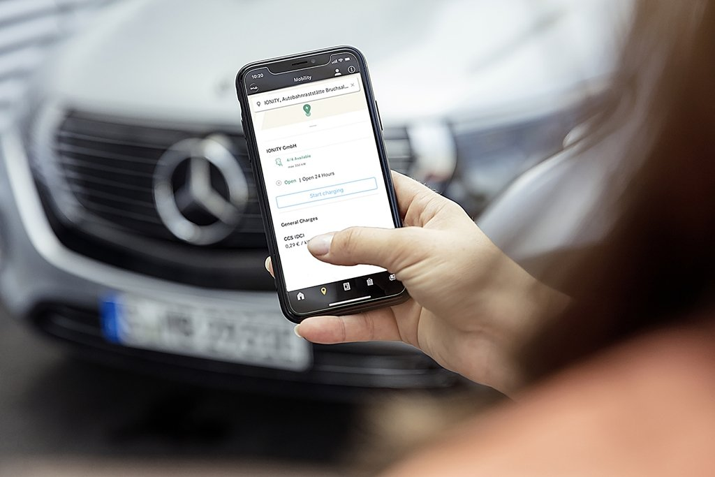 賓士為EQC和插電油電車推出Mercedes me Charge應用程式讓駕馭電