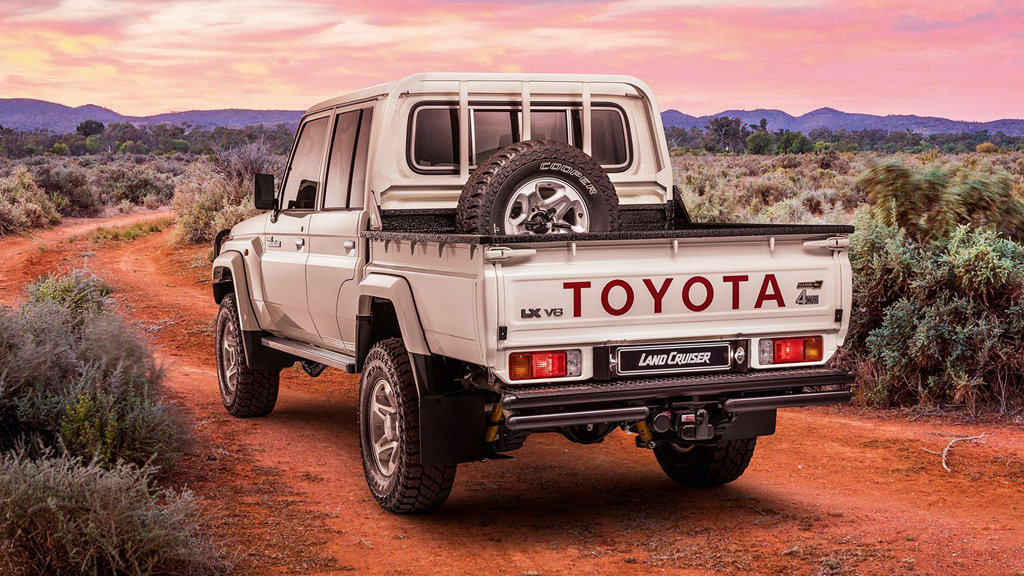 無懼惡地,TOYOTA推出Land Cruiser Namib特別版