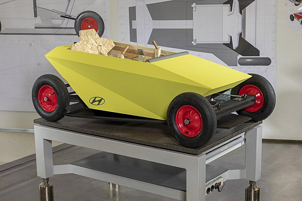 現代發表一台全家可DIY組裝的玩具車Hyundai Soapbox Ride
