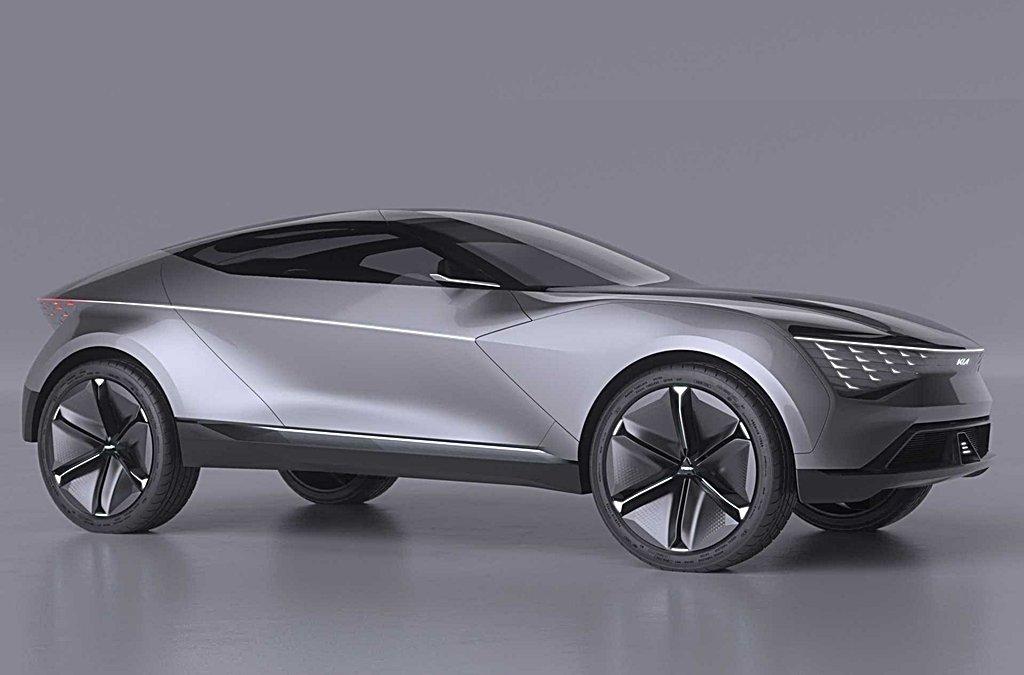 取材自幽浮和中國龍紋,KIA推出純電動轎跑車Futuron Concept揭示