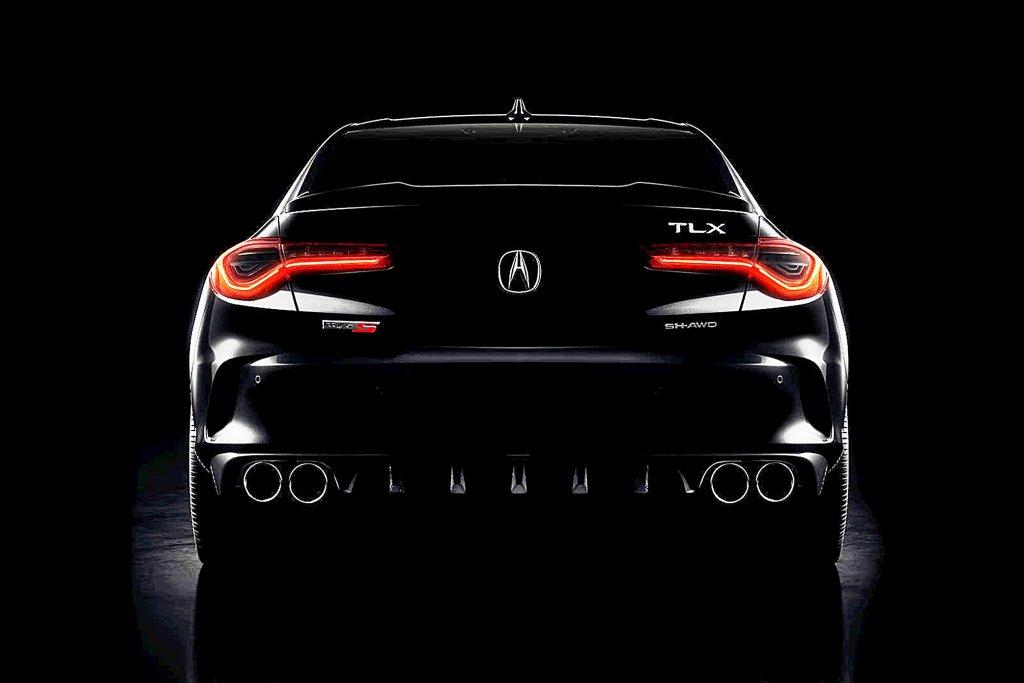 2021年式ACURA全新跑房車Acura TLX Type S釋出首張預告圖