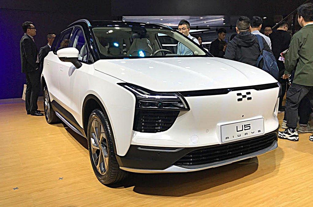 這不是納智捷!大陸新創公司愛馳Aiways首部電動車U5將挑戰絲路長