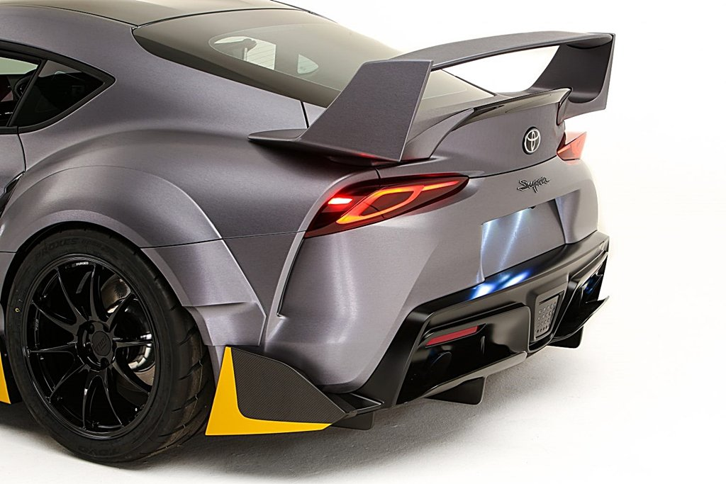 TOYOTA從1994年的賽車汲取靈感打造Supra 3000GT Concept