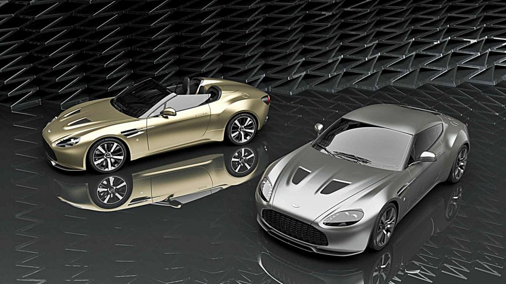 華麗百年紀念版手工跑車ASTON MARTIN Vantage V12 Zagato Herita