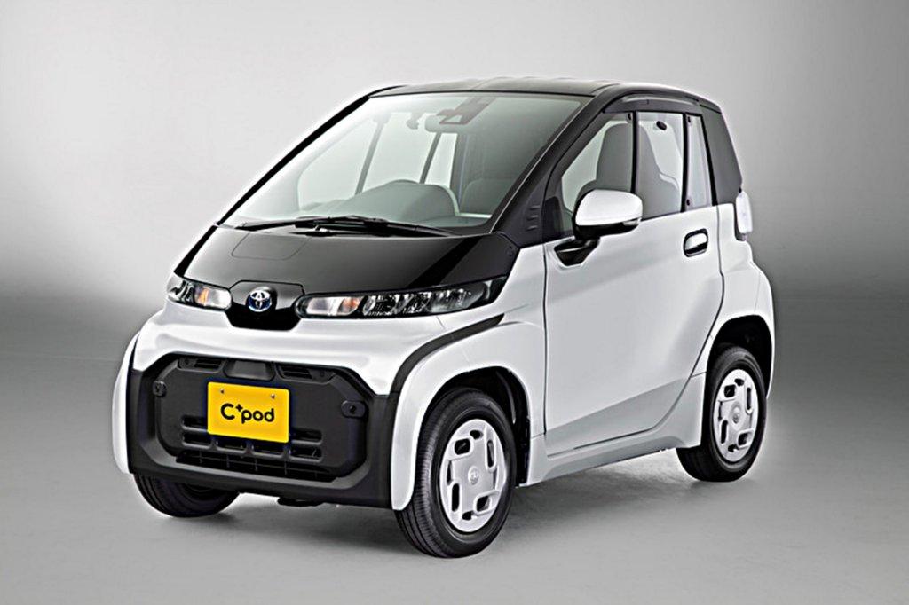 TOYOTA推出全超迷你雙座純電動車C+pod,最大續航里程可達150公里