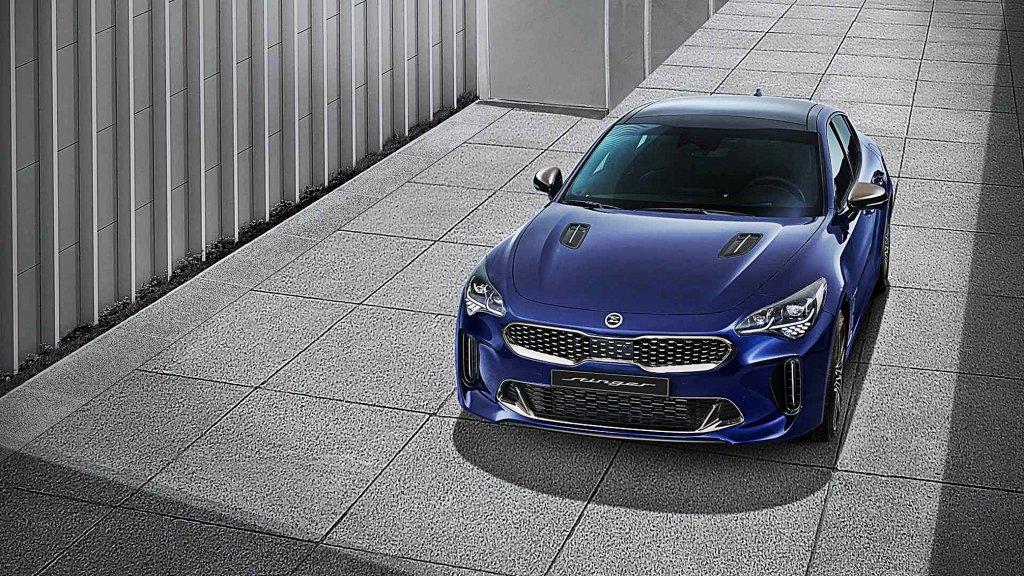 KIA四門GT跑房車Stinger發表中期改款公布動力編成追加四缸Turbo