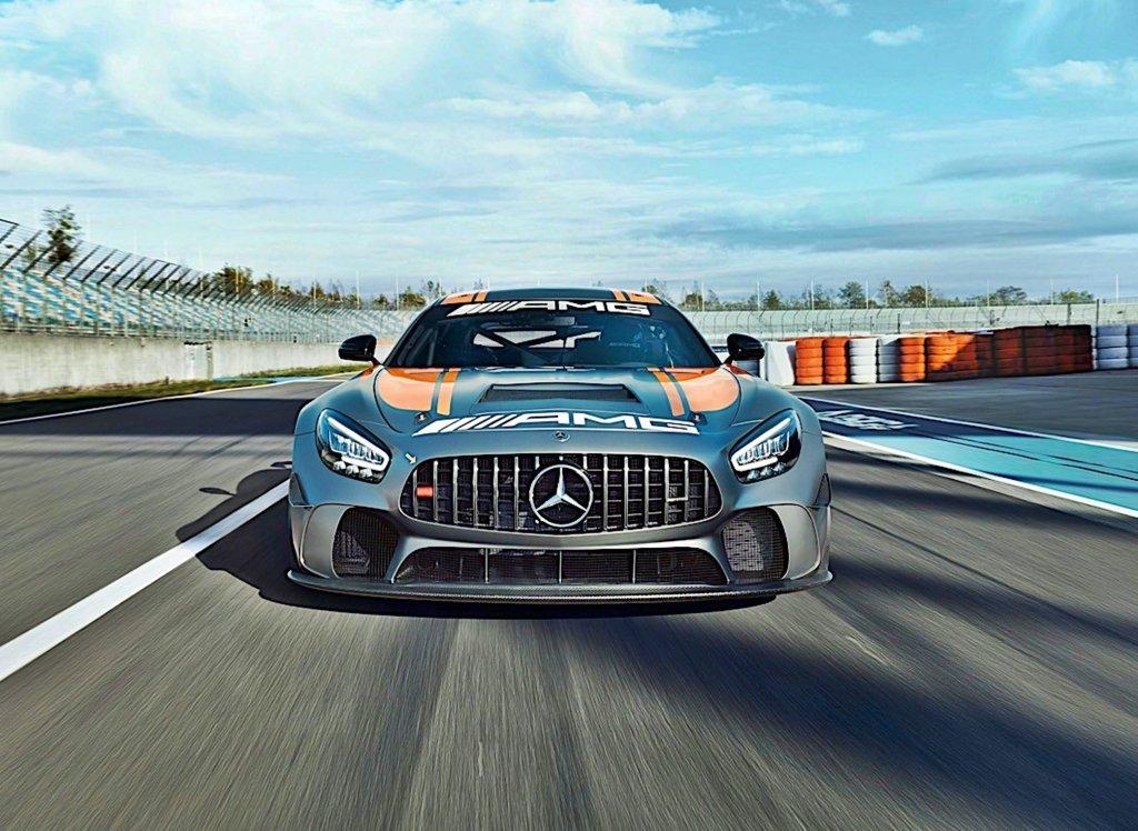 Mercedes-AMG推出改款GT4,煞車與冷卻進行改良與強化