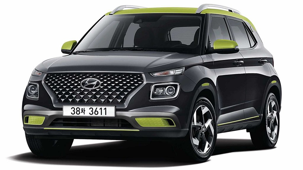 現代汽車小型跨界休旅Venue打造螢光版Venue Flux南韓首發