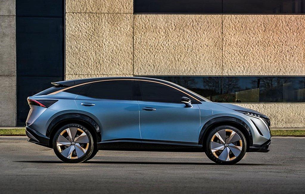 NISSAN將推出品牌第2部電動車Ariya電動跨界休旅,設計師揭露產品