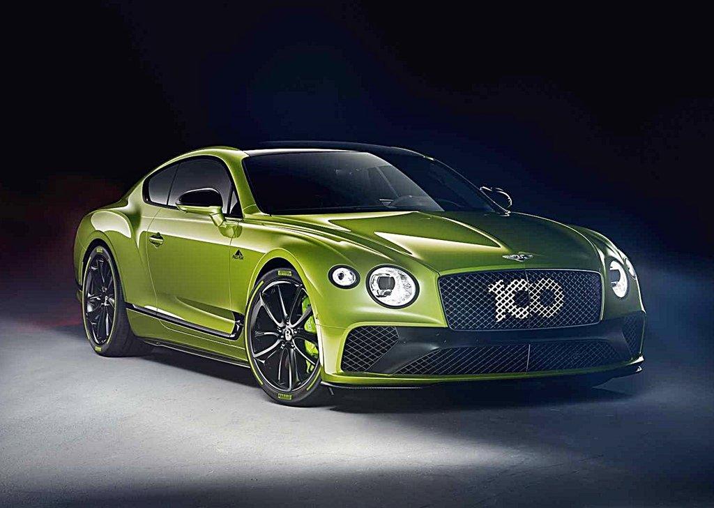 BENTLEY為派克峰破紀錄推出Continental GT Limited Edition紀念