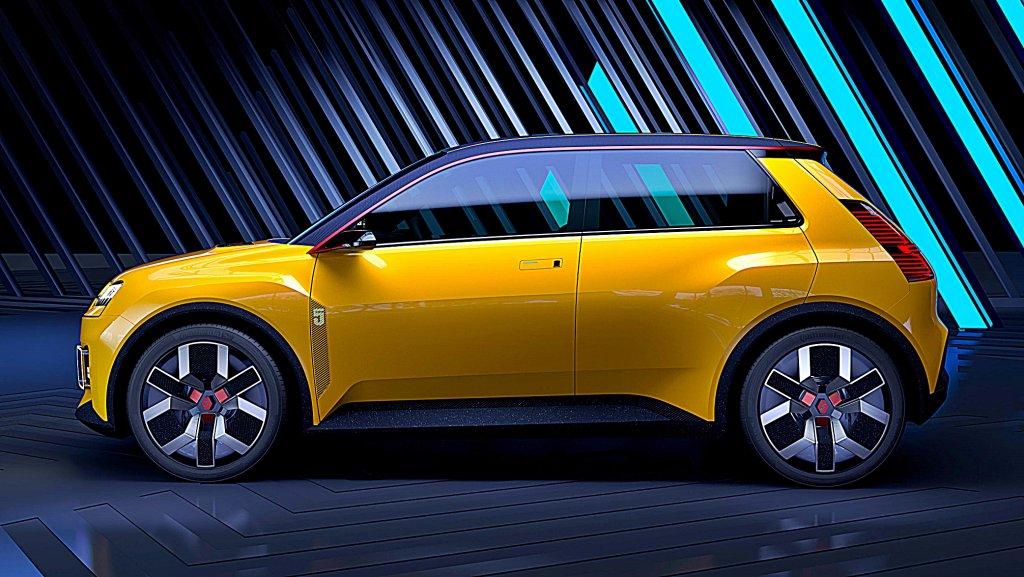 RENAULT將讓經典車款雷諾 5號重生,將變身小型電動車並於 2025
