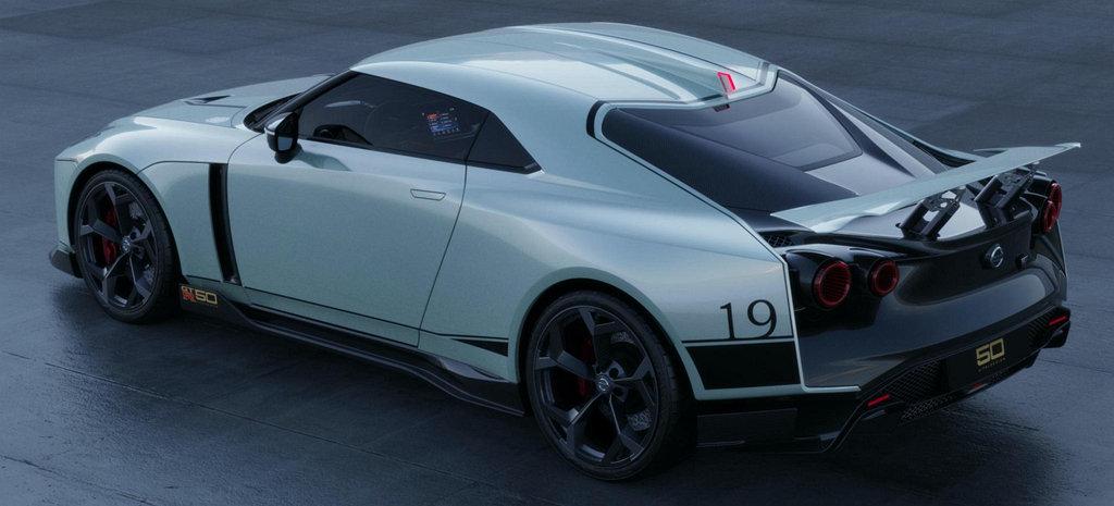不老戰神魅力依舊驚人,NISSAN GT-R50 By Italdesign正式開放訂
