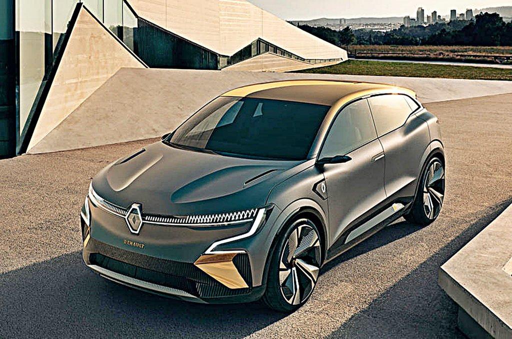 雷諾公布品牌最新世代電動車的首部作品Megane eVision