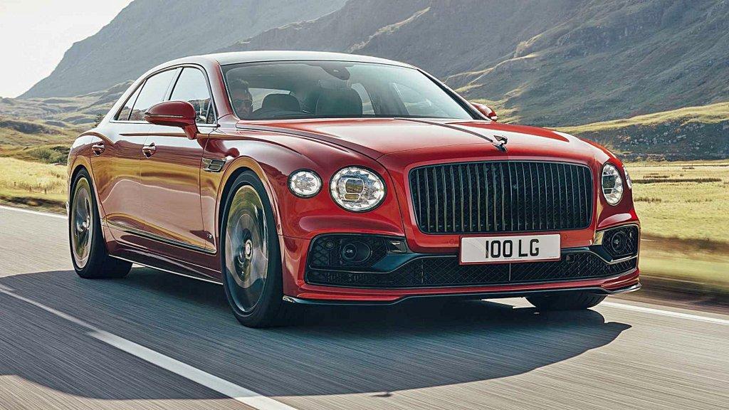 賓利發表Flying Spur V8 入門車型,車重減100公斤,最大馬力500