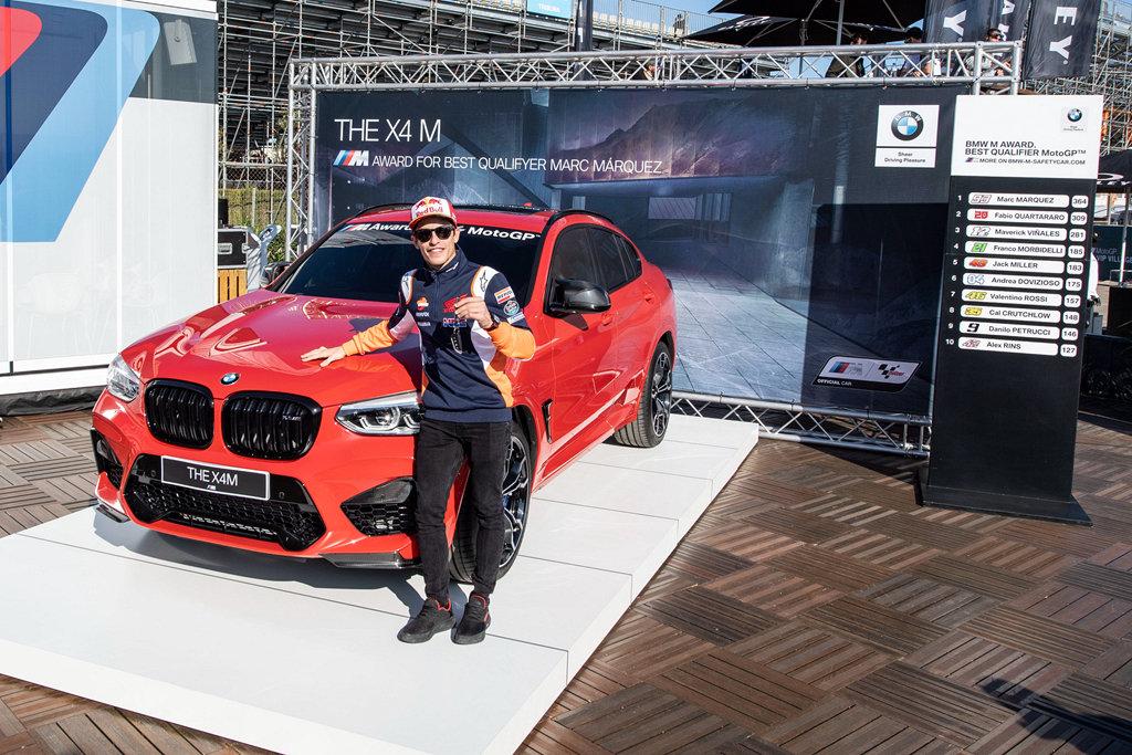 桿位王七連霸,Marc Marquez進軍MotoGP以來年年都有新BMW MCar開