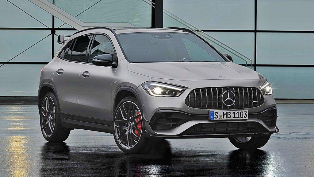 賓士推出高性能跨界休旅Mercedes-AMG GLA 45,0到100加速4.4秒