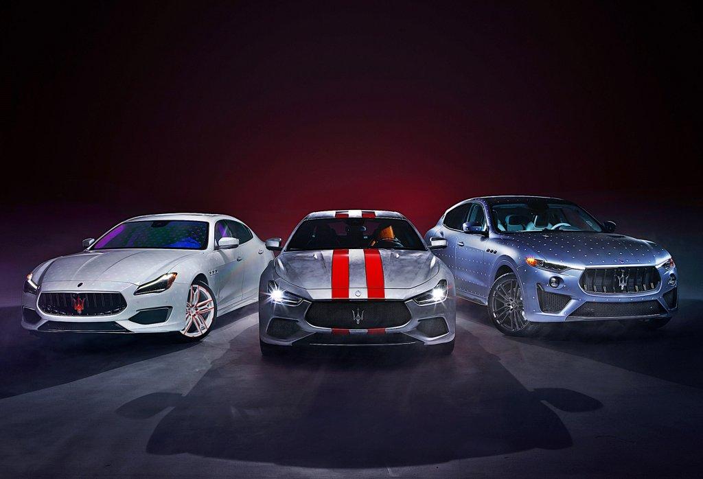 MASERATI打造三款獨一無二展示車,以啟動Fuoriserie客制化計畫讓