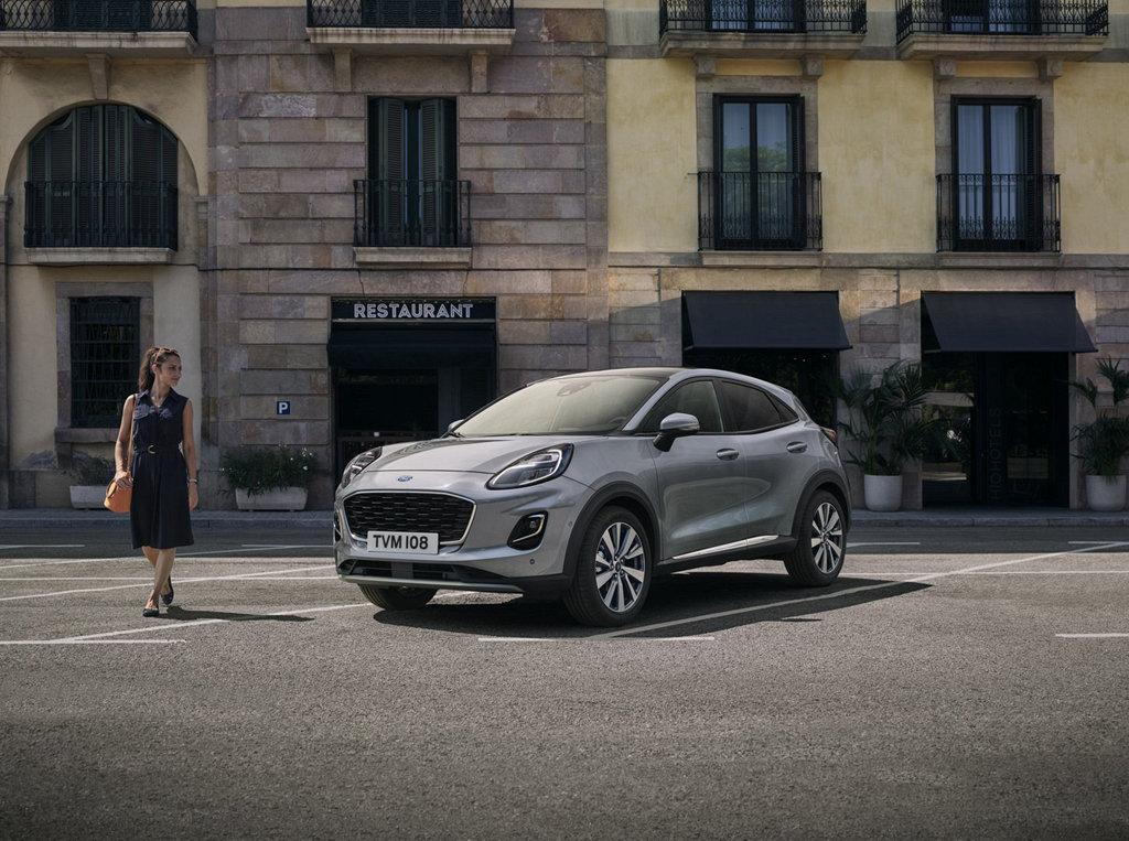 小車高規格,FORD為Puma推出Titanium X頂規車型參展
