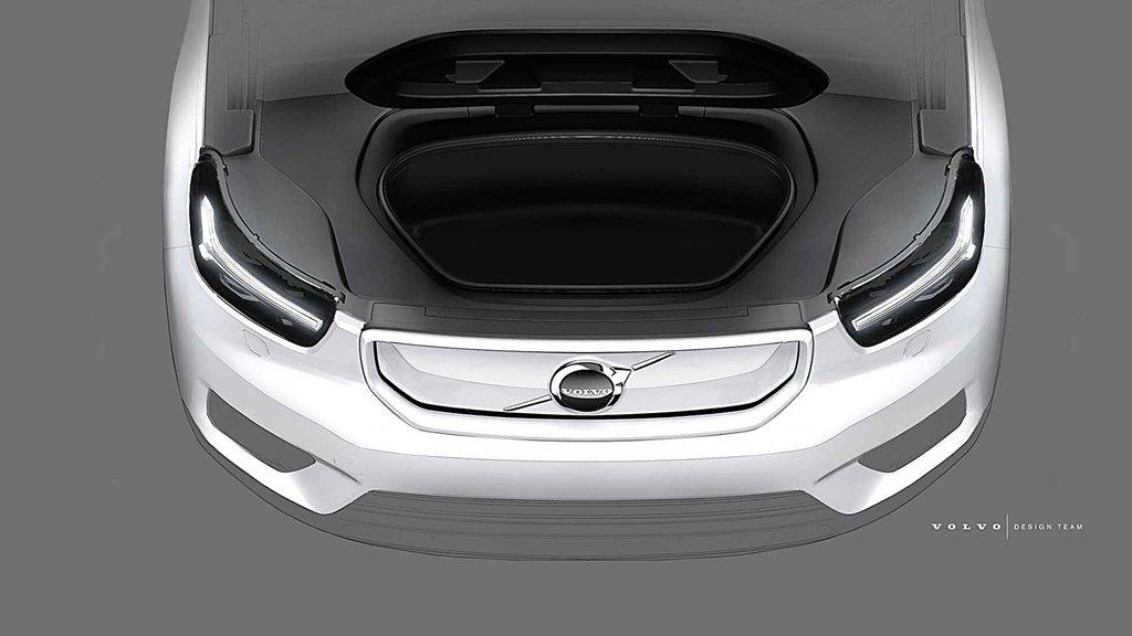 VOLVO首部純電動車XC40 Electric釋出第二波預告,10月16日全球首