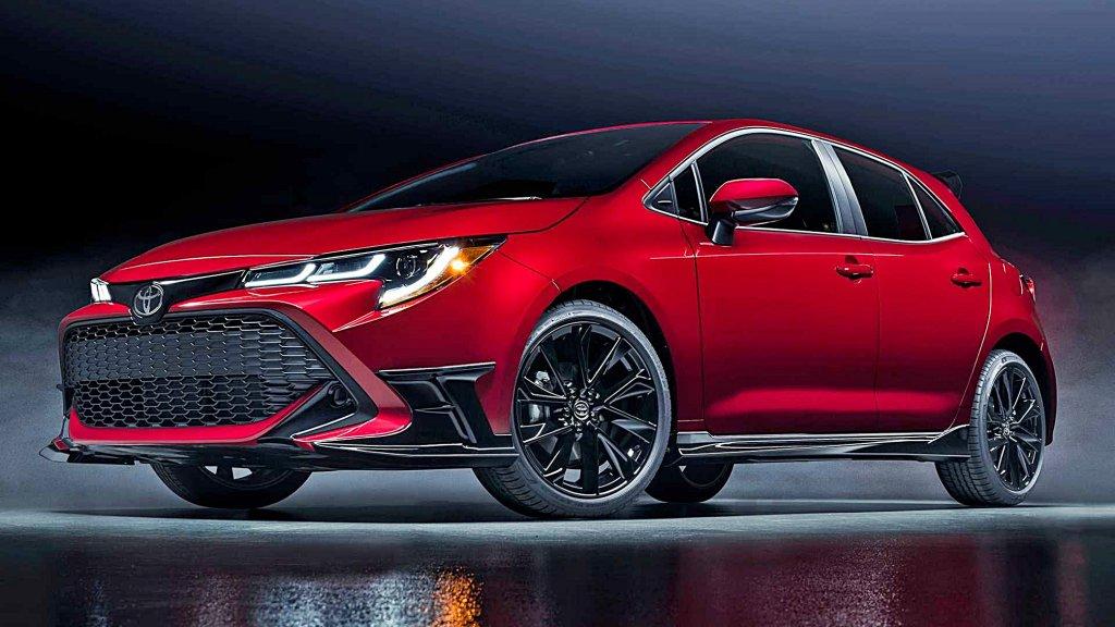 TOYOTA北美推出Corolla Hatch Special Edition視覺系的特仕版,