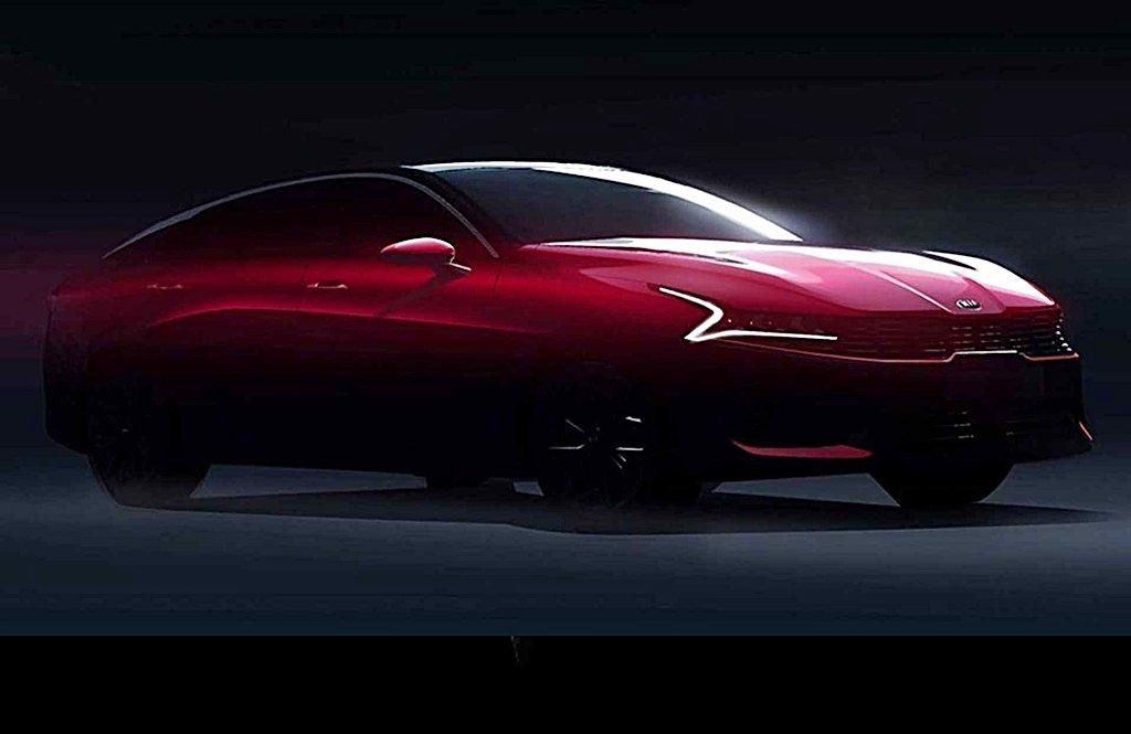 KIA全新2020年式Optima大變身,預告設計圖釋出顯示GT跑車的身形