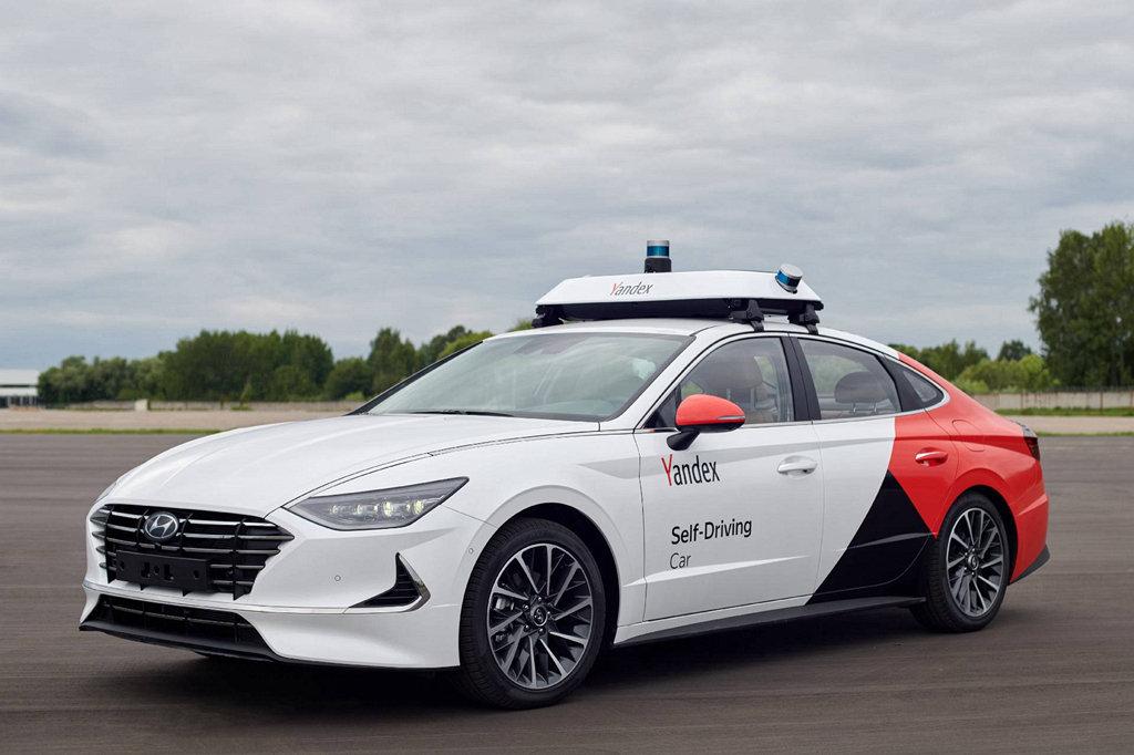 超高效率!HYUNDAI、Yandex自動駕駛Sonata正式亮相