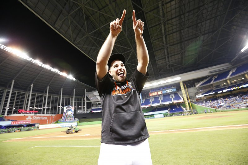 邁阿密馬林魚隊(Miami Marlins)王牌右投手費南德茲(José Fernández)(AP)