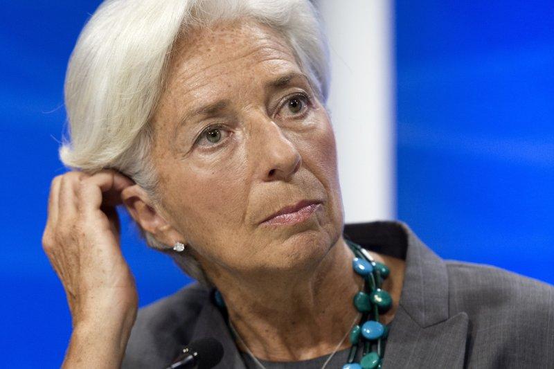 國際貨幣基金組織(IMF)總裁拉加德(Christine Lagarde)(AP)
