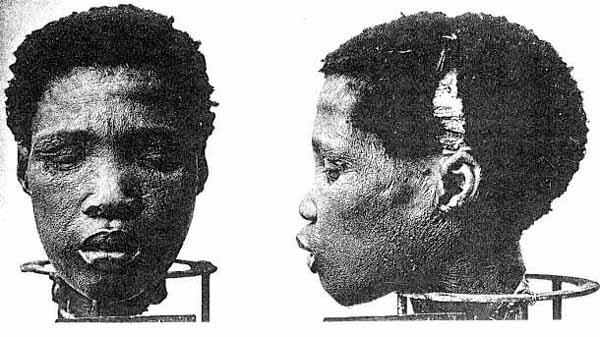 被送往德國研究的赫雷羅人頭顱。(圖/維基百科公有領域)